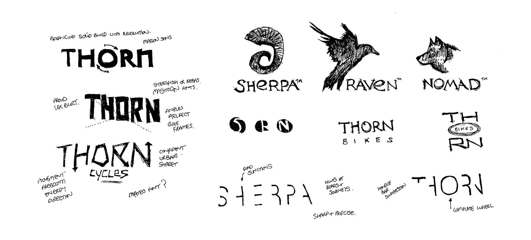 Branding pitch logo ideas