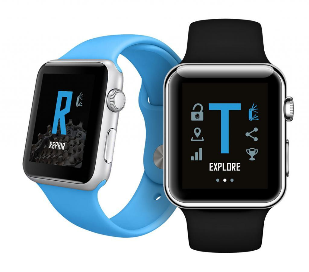 Thorn Cycles iWatch App Sherpa design