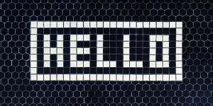 Garlic Typography blog post